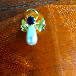 Angel tie clip pin